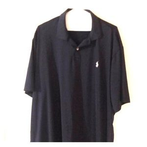 2XL Polo Brand Dark Blue Dry Fit Polo Shirt